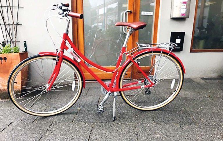 Die Speiche - rotes Fahrrad