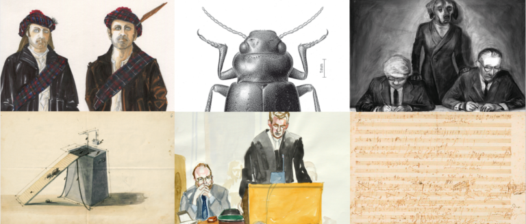 Einblicke in die Welt der Zeichnung