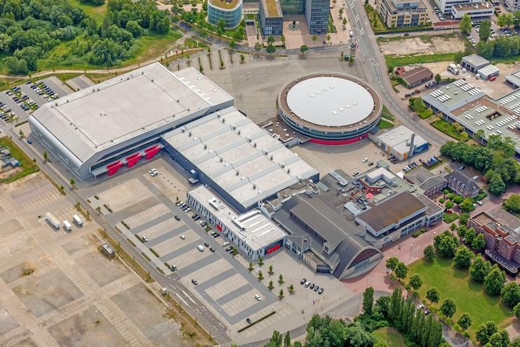 Luftbild Weser-Ems-Hallen