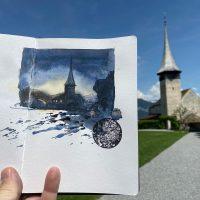One_Day_One_Sketch__Schloss_Spiez__Schweiz__c__Jens_Huebner